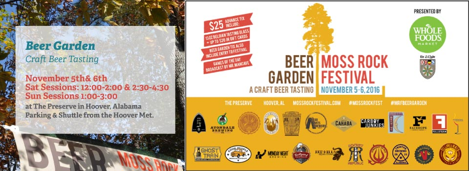 Beer Garden – craft beer tasting