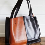 Biscuit Leather Co. Black and Tan Biscuit