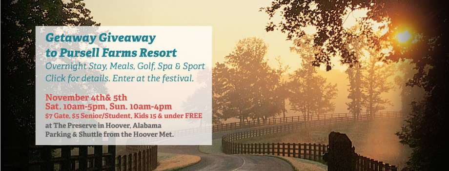 Pursell Farms Resort Getaway Giveaway